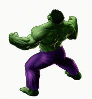 The incredible Raagh! I mean Hulk! by CountCarbon