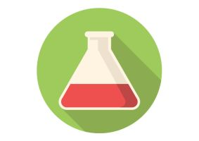 Test-tube-free-flat-vector-icon by superawesomevectors