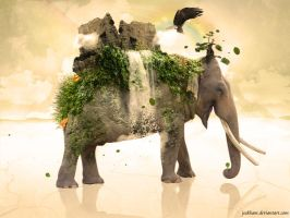 Tribute to Nature by jeckham