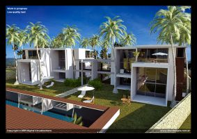 W.I.P Exterior houses by diegoreales