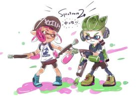 Splatoon 2 !!!!!!!!!!!! by tyanngMeru