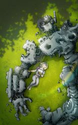 Girl with Dead Robot Part 3 by ryuzo