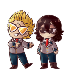 BNHA - The boys by akkame