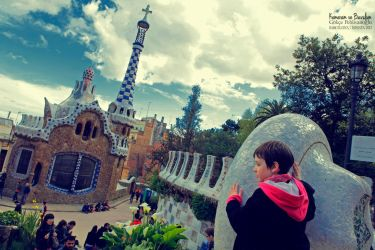 Barcelona 02 - Park Guell by Anahita