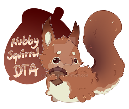 [CLOSED] DTA! Nubby Squirrel by synicals