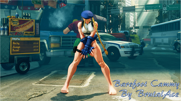 Barefoot Cammy By BrutalAce by BrutalAce