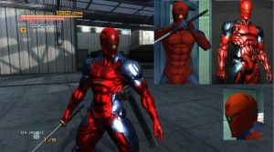 Cyborg Ninja/Gray Fox | MGS1 Red Exoskeleton by Randy-C10