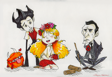 Don't Starve Together by HezuNeutral