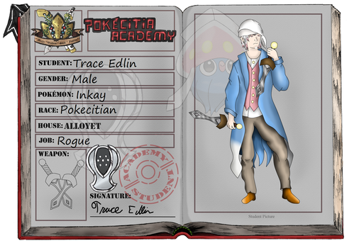 Pokecitia App - Trace Edlin by hextech-ninja