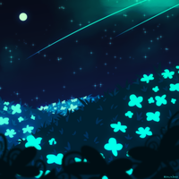 Night Meadow....  or something by Riocakes