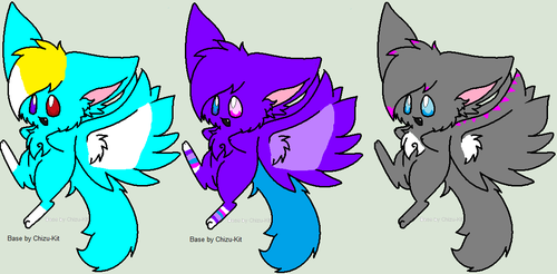 adoptable cats by Metaroy110