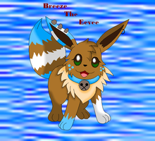 .:Breeze The Eevee:. by SkyBlueArts