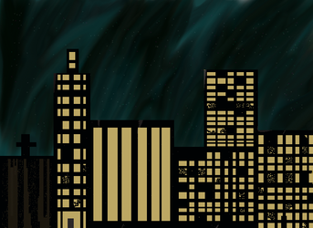 Night time city by Laughitallout