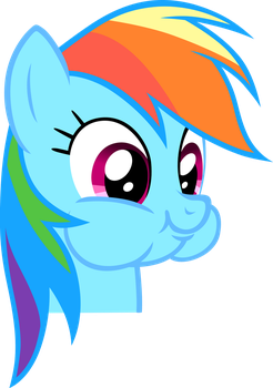 No real title, just Dashie being adorable by cthulhuandyou
