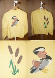 Shirt Mandarin Duck by bifishiar