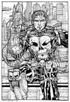Punisher III by godzillasmash