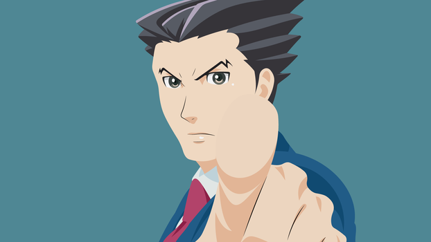 Ace Attorney - Phoenix Wright by YoshinoYoshie