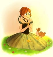 Anna and the Duckies by SnookieVonPink123