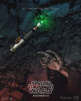 Star Wars: Last Jedi fan poster by KAVIZO