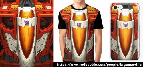 Starscream Merchandise by BryanSevilla