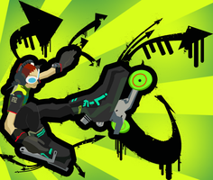 Jet Set Radio Beat wallpaper by annoyedrobot