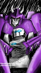 MTMTE Cyclonus and Tailgate by TheHiddenPredacon