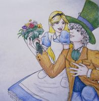 Alice and the Mad Hatter by RallyPchan