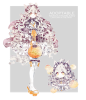 [CLOSED] Monochrome Adoptable XXXV by Staccatos