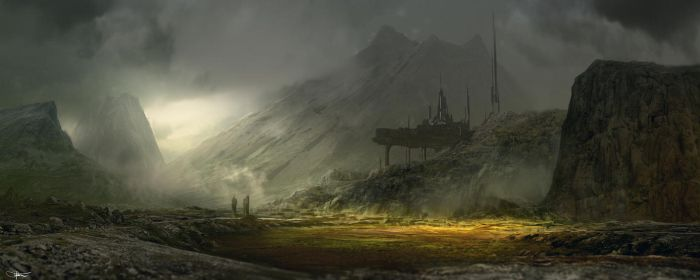 Generic Landscape 001 by artificialdesign