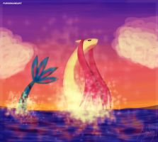 Milotic by imajenink