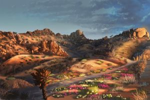 Mojave Desert by chateaugrief