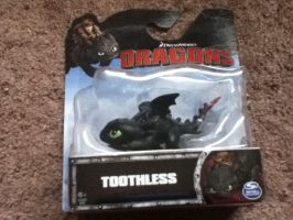 2015 Dreamworks Dragons Chibi Toothless Figure by PokeLoveroftheWorld