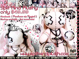 Split Mind Plushy Brochure by angelycious