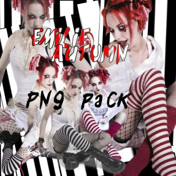Emilie Autumn PNG Pack by downwiththedarklord
