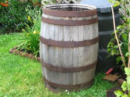 Wooden barrel 2 by Regenstock