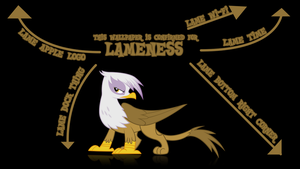 Wallpaper Of Lameness by GuruGrendo