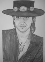 Stevie Ray Vaughn by donna-j