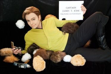 my entry to William Shatner's Cosplay Contest by Glay