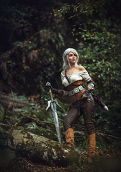 Ciri by jellyxbat