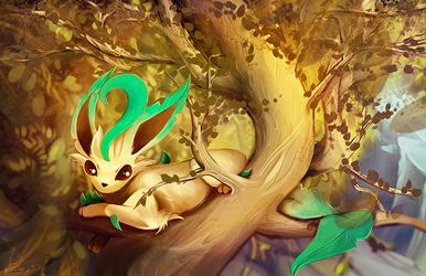 Leafeon by posteyam