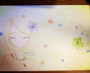 Flower wind by Ayano-tyan