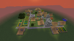 new village building modifications by ColtCoyote