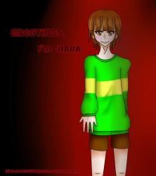 Meet Chara by XJessTheKillerX