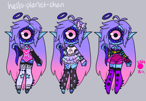 [outfit set] - Xenobaby [1/2] by hello-planet-chan