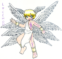 Lucemon by achthenuts