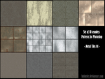 PS Pattern - Metal Tiles 01 by halmtier