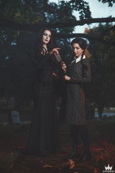 Addams Family - Is that for your brother? by elliria