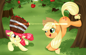 Bucking Apples by OMGProductions
