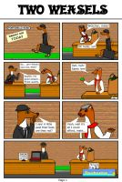 Two Weasels - Part 1 by DCLeadboot