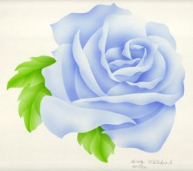 Blue Rose by Sindy-Chan